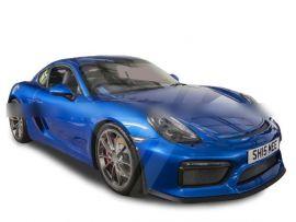 Porsche Cayman 981 GT4 Half Carbon Fiber Body Kit Front Bumper