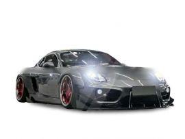 Porsche Cayman 981 MB Design Half Carbon Fiber Wide Body Kit
