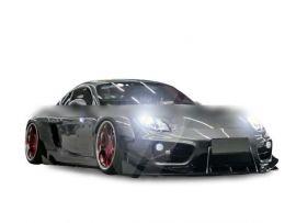 Porsche Cayman 981 MB Design Half Carbon Fiber Wide Body